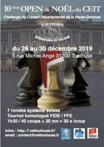 Affiche Open Noël 2019